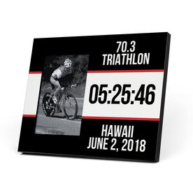 Triathlon Photo Frame - Triathlon Bib