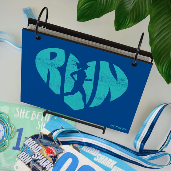 BibFOLIO® Race Bib Album - Love the Run