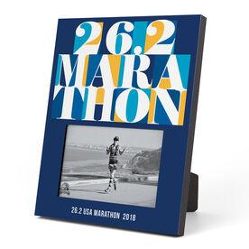 Running Photo Frame - 26.2 Marathon Mosaic