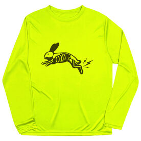 Men's Running Long Sleeve Tech Tee - Lightning Rabbit