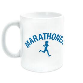 Running Coffee Mug - Marathoner Girl