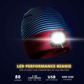LED Performance Beanie - Twilight