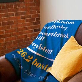 Running Premium Blanket - 26.2 Boston Mantra
