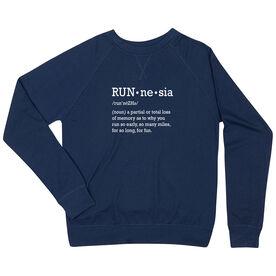Running Raglan Crew Neck Sweatshirt - RUNnesia
