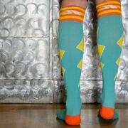 Let's Bolt Compression Knee Socks
