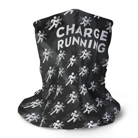 Running Multifunctional Headwear - Charge Running Logo Repeat Tie-Dye RokBAND