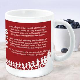 Running Coffee Mug - Twas The Night Before The Race