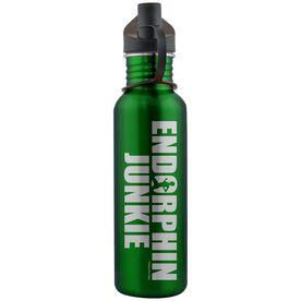 Endorphin Junkie 24 oz Stainless Steel Water Bottle