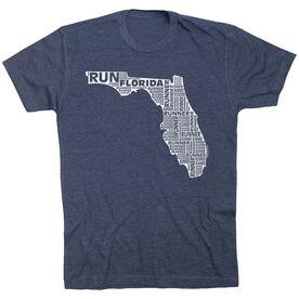 Running Short Sleeve T-Shirt - Florida State Runner