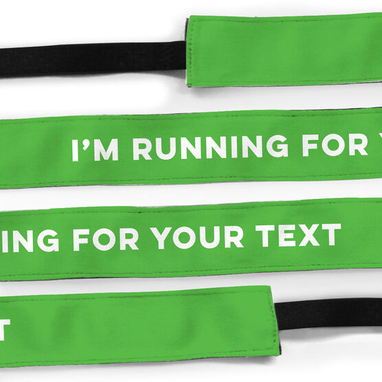 Running Julibands No-Slip Headbands - I'm Running for...