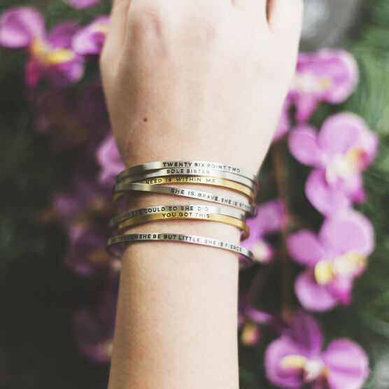 InspireME Cuff Bracelet - Choose Joy