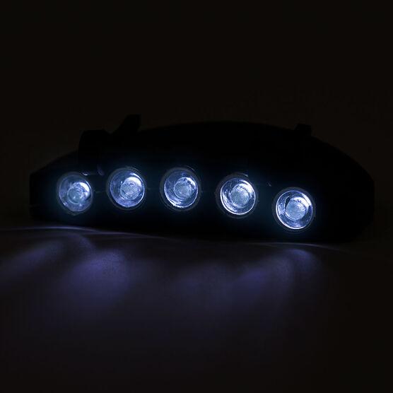 LightGUIDE Clip-on 5 LED Hat Light