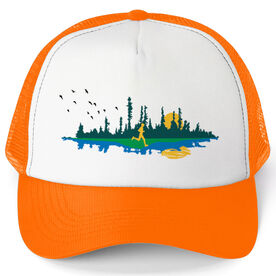 Running Trucker Hat - Runner Reflection