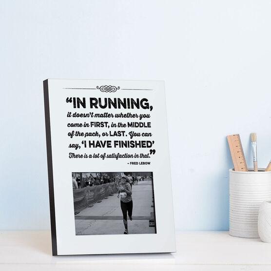 Running Photo Frame - In Running