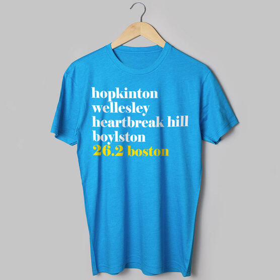 Running Short Sleeve T-Shirt - Run Mantra Boston