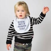 Running Baby Bib - My Mommy Is A 26.2