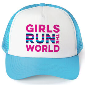 Running Trucker Hat - Girls Run The World