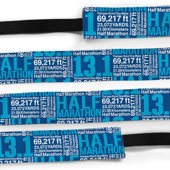 Running Julibands No-Slip Headbands - 13.1 Math Miles