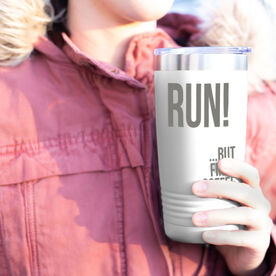 Running 20 oz. Double Insulated Tumbler - But First Coffee