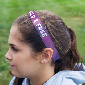 Running Juliband No-Slip Headband - Personalized Watercolor