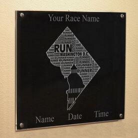 Washington DC State Runner Wall Art