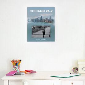 Running Photo Frame - Chicago Sketch