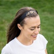 Running Juliband Non-Slip Headband - Tiara (Gold)