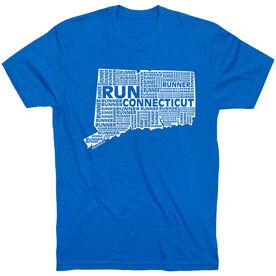 Running Short Sleeve T-Shirt - Connecticut State Runner