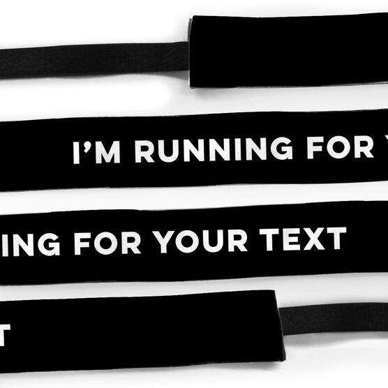 Running Juliband No-Slip Headband - I'm Running for...