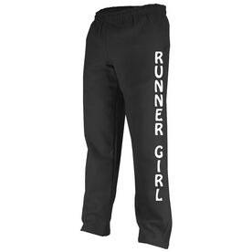 Running Runner Girl Fleece Sweatpants