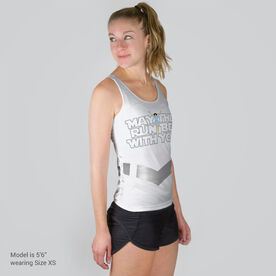 Women's Performance Tank Top - May The Run Be With You