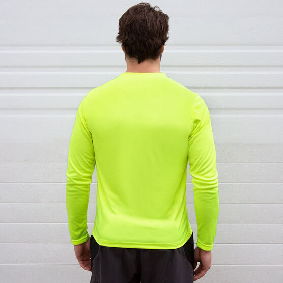 Men's Running Long Sleeve Tech Tee - Runner Reflection