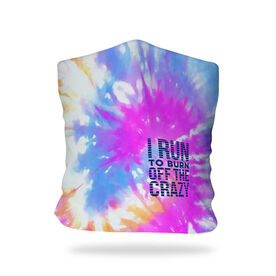 Running Multifunctional Headwear - I Run To Burn Off The Crazy Tie-Dye RokBAND