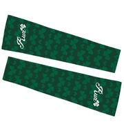 Running Printed Arm Sleeves - Run Clover