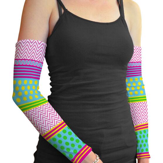 Printed Arm Sleeves Crazy Sleeves
