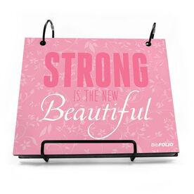 BibFOLIO® Race Bib Album - Strong Is The New Beautiful
