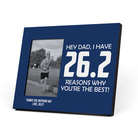 Running Photo Frame - 26.2 Reasons Why You're The Best Dad