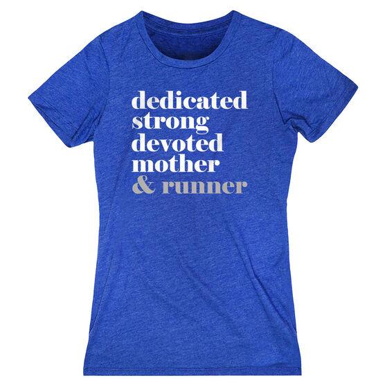 Women's Everyday Runners Tee - Run Mantra Mother Runner