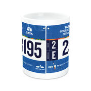 Running Coffee Mug - Your Race Bib On A Coffee Mug