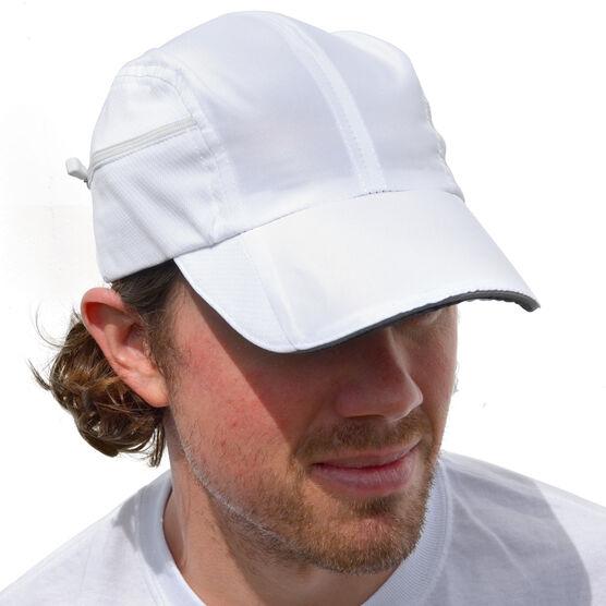 Ultra Pocket Hat for Runners - White