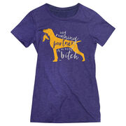 Women's Everyday Tee My Running Partner Is A Real Bitch