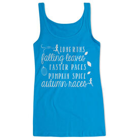 Running Women's Athletic Tank Top - Awesome Autumn