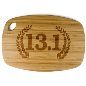 Rectangle Laser Engraved Bamboo Cutting Board 13.1 Vine Crest