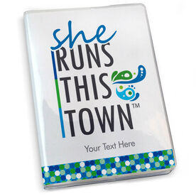 GoneForaRun Running Journal - She Runs This Town Stacked