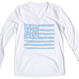 Women's Long Sleeve Tech Tee - United States of Runners