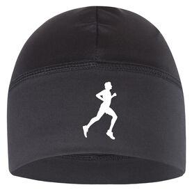 Run Technology Beanie Performance Hat - Male Runner