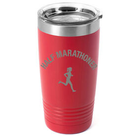 Running 20oz. Double Insulated Tumbler - Half Marathoner Girl