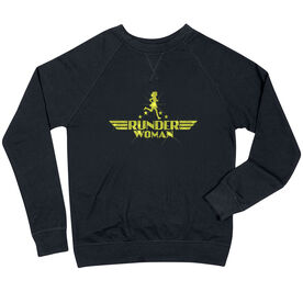 Running Raglan Crew Neck Sweatshirt - Runder Woman