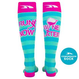 36ef49fab7 Fun Compression Socks for Runners, Long Running Socks