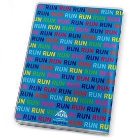 GoneForaRun Running Journal - Run Run Run Stick Figure